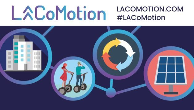 LA CoMotion Conference - LA CoMotion brings together the brave new world of the urban mobility revolution, November 15-17, 2018 — a revolution that is set to transform every city in the world, large and small. Global mayors, leading technologists, public transport operators and venture capitalists, start-ups and established players — the entire landscape of new urban mobility will be present in November for LA CoMotion. Three days of immersive and inspirational talks, demos, test drives and exhibitions — a glimpse into our new urban future.