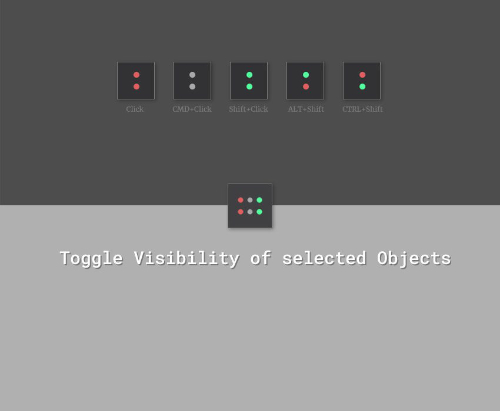 - Toggle Visibility for C4D