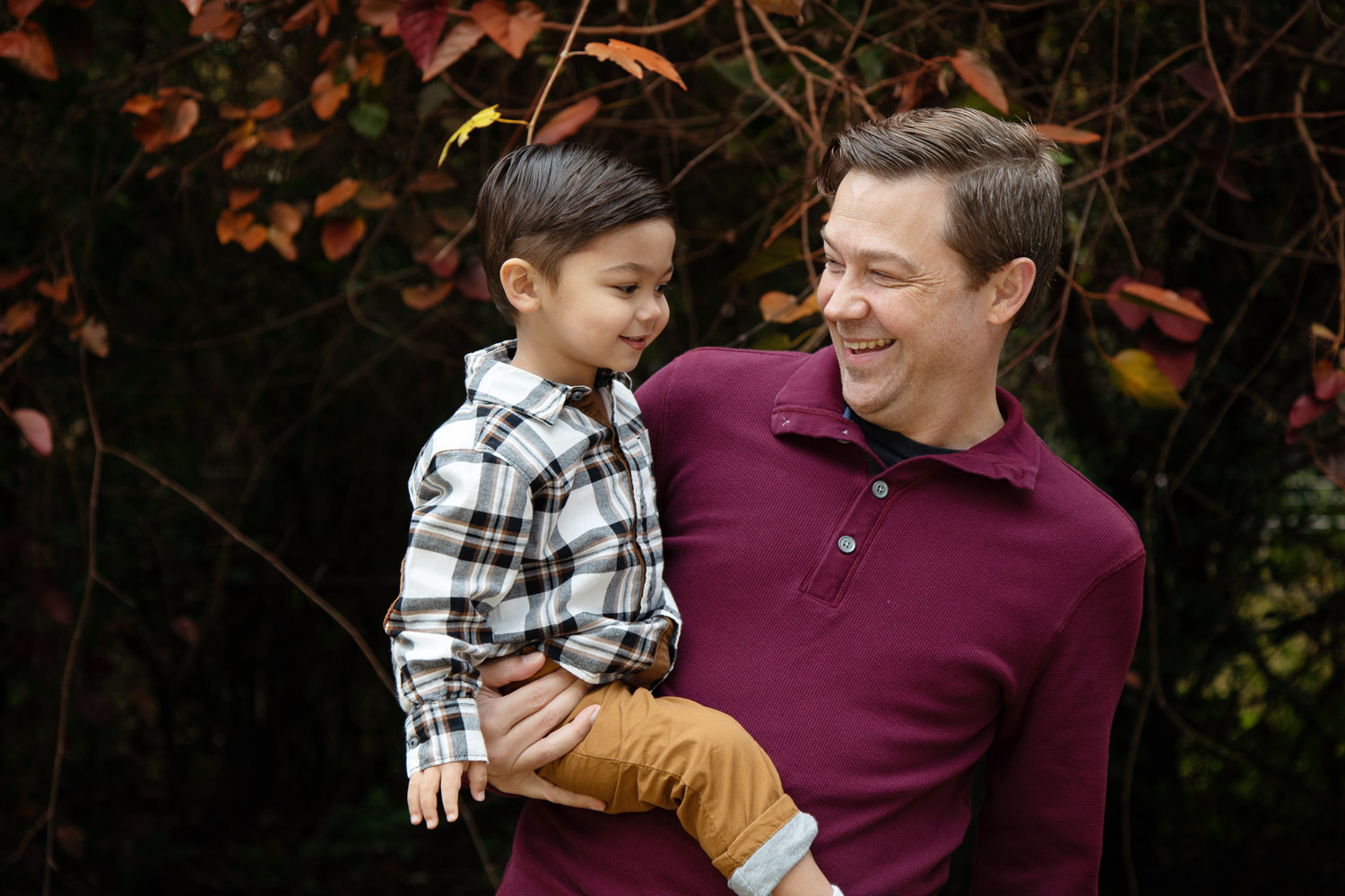 houston family photography father son