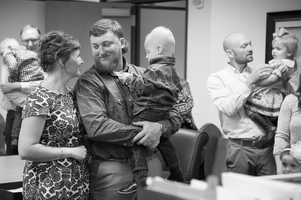 adoption day photography family during proceeding