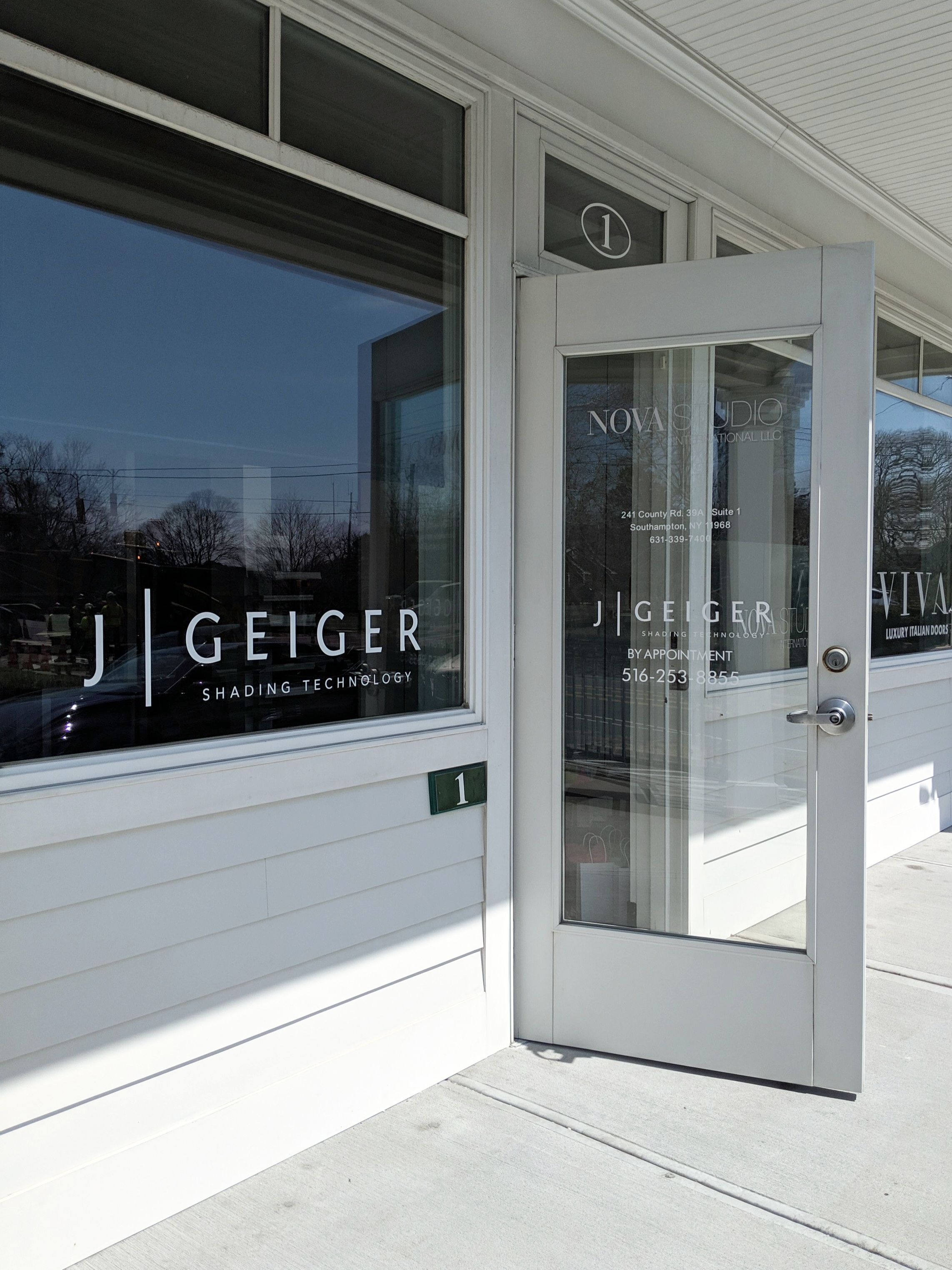 J Geiger Shading Showroom Southampton