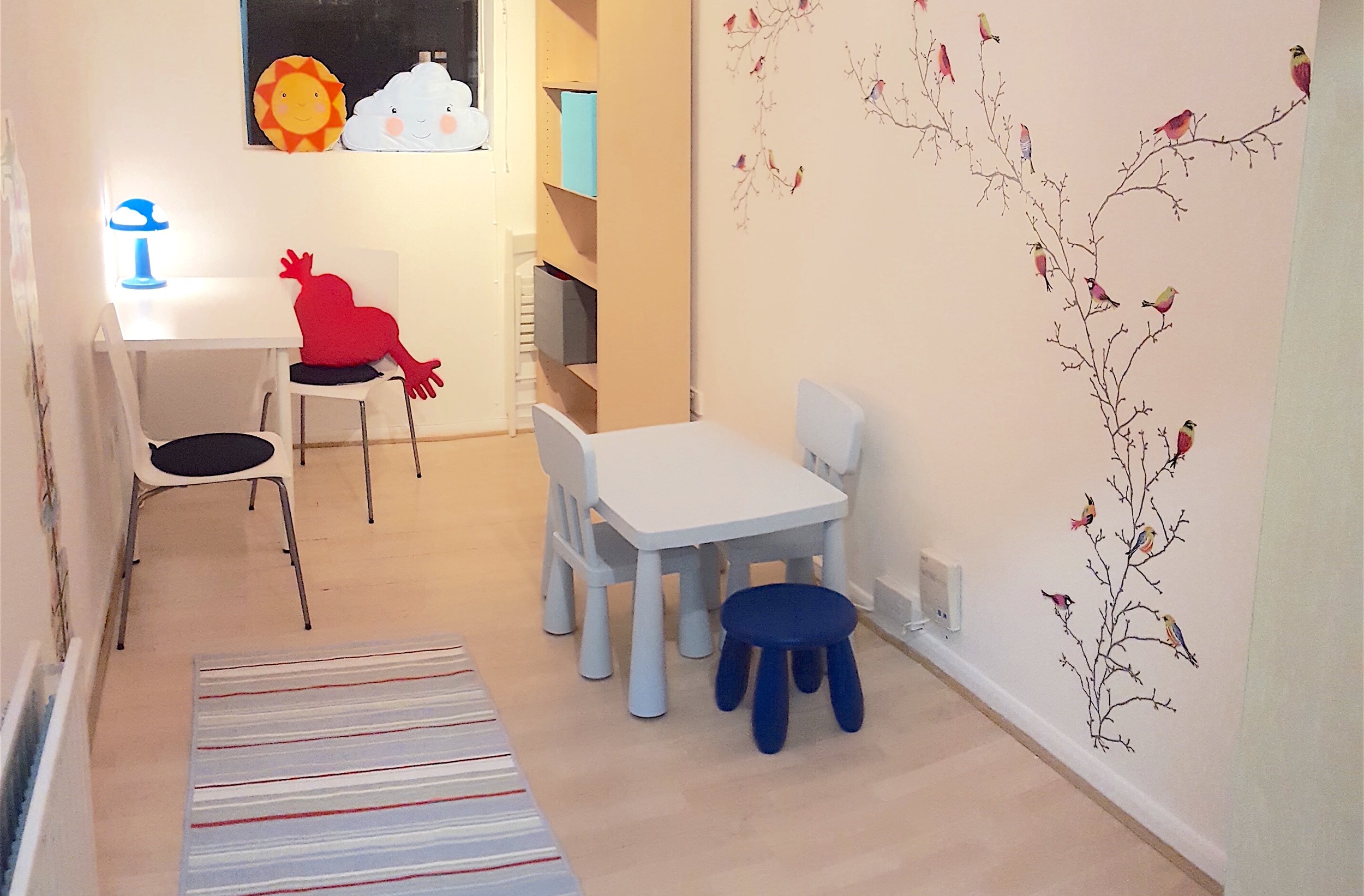 Wandsworth London clinic therapy room
