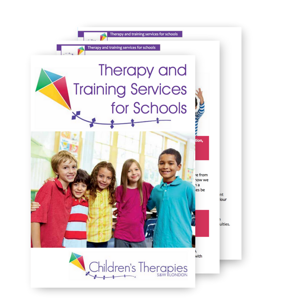 Training courses for schools booklet