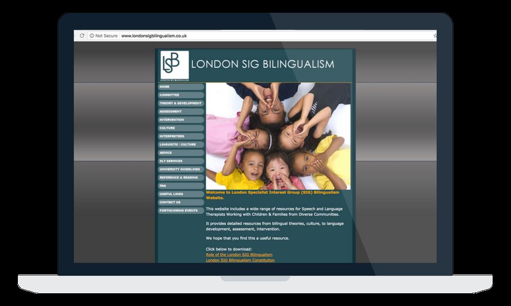 london sig bilingualism
