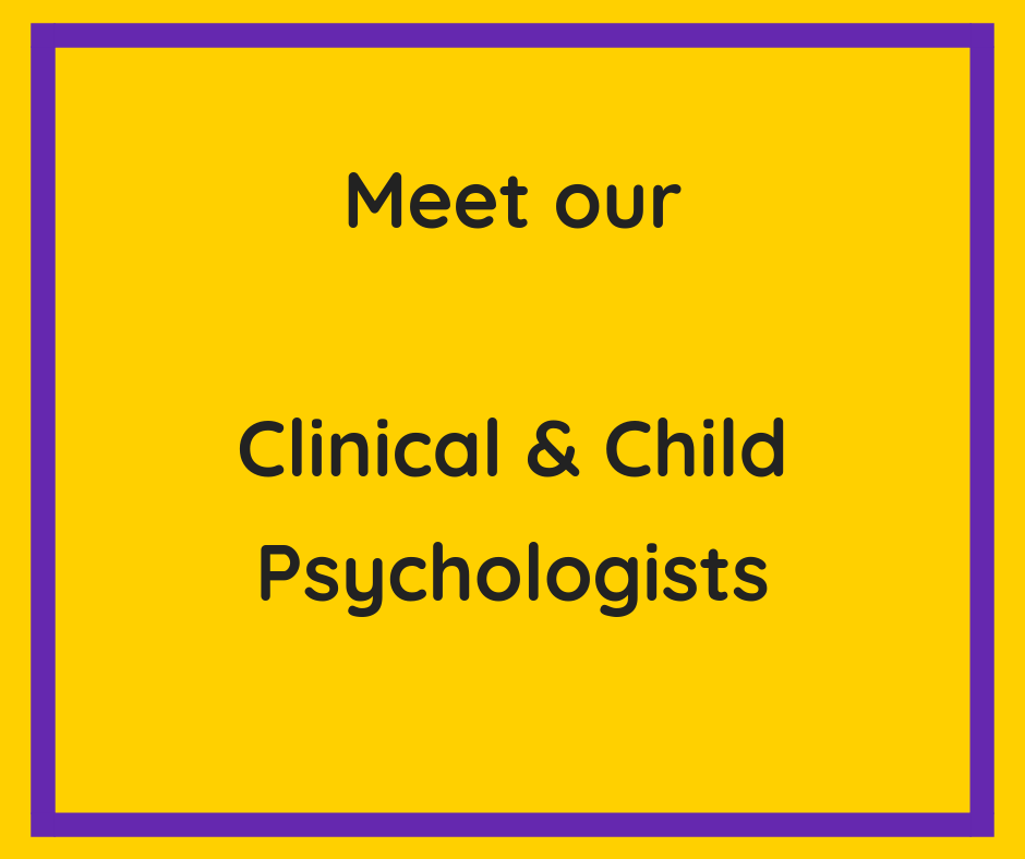 Meet our clinical psychologists