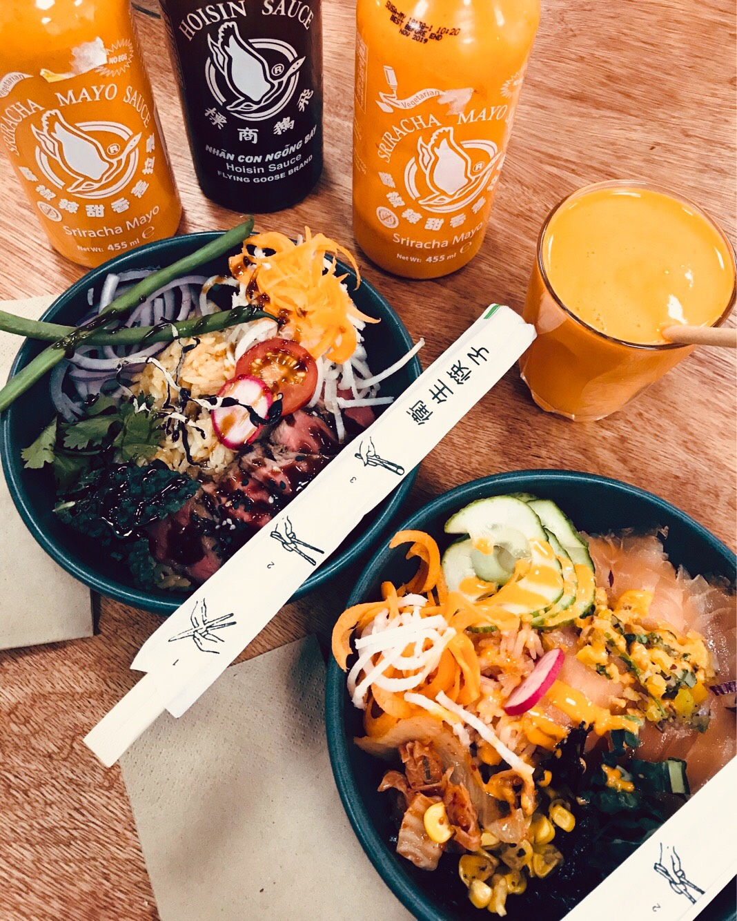 Kohi - Creating a strong fusion of Hawaiian and Japanese cuisine comes Kohi. - a new food concept located within the central space in COLAB.Kohi will be introducing the poke bowl concept to Glasgow after it has become one of the worlds fastest growing culinary concepts!