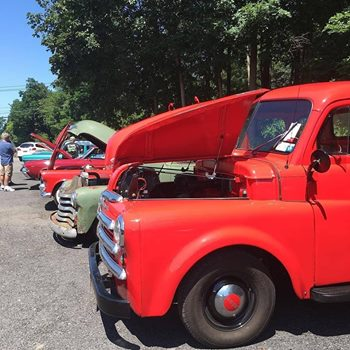 Classic Car show during Nostalgia at The Yard 2017
