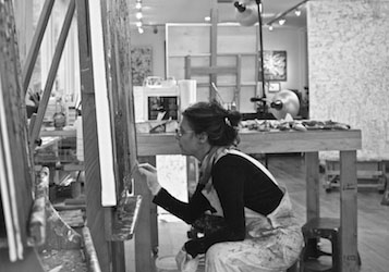 In the Making - At work in my Minneapolis studio