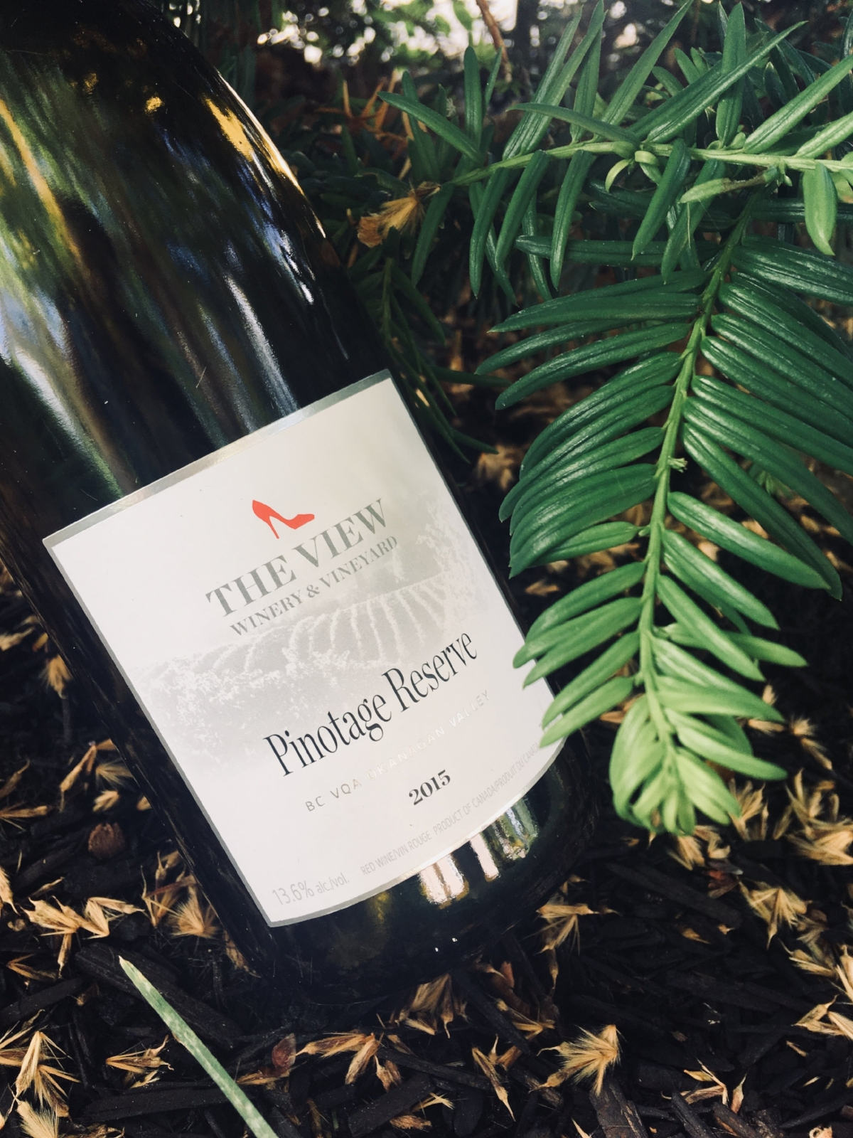 The View's 2015 Pinotage Reserve, produced from 27-year old Pinotage Vines.