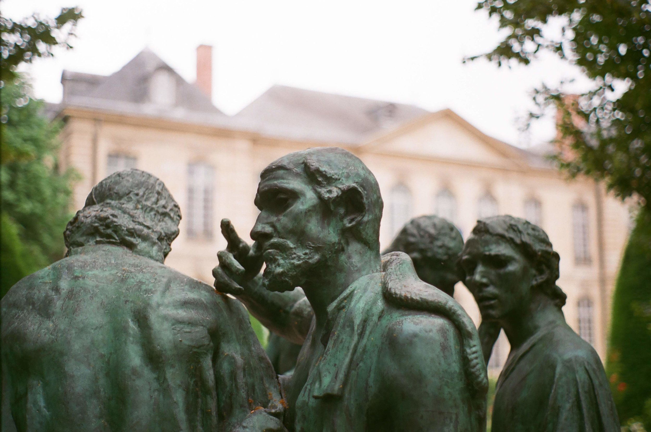 Though I never got to see photos I took inside the Rodin Museum, I still had photos from the grounds.