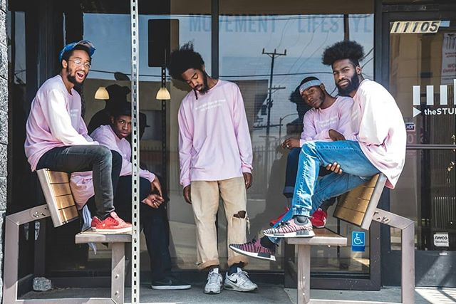 """The Rare 3"" Long Sleeve Pink Shirt. White Ink. Front: No one here fears the cypher Feel Good, Move Well. Back: ""We wit all the Beef"" and hand drawn Burger Design. Sizes: S•M•L•XL•XXL Cost: $25  AVAILABLE NOW ONLINE TheMovementLifestyle.com/mlfl 📱link in bio📱 📷: @soterojordan  #TheFLooridians #FLooridians #MovementLifestyle #feelgoodmovewell #FLStandUp"