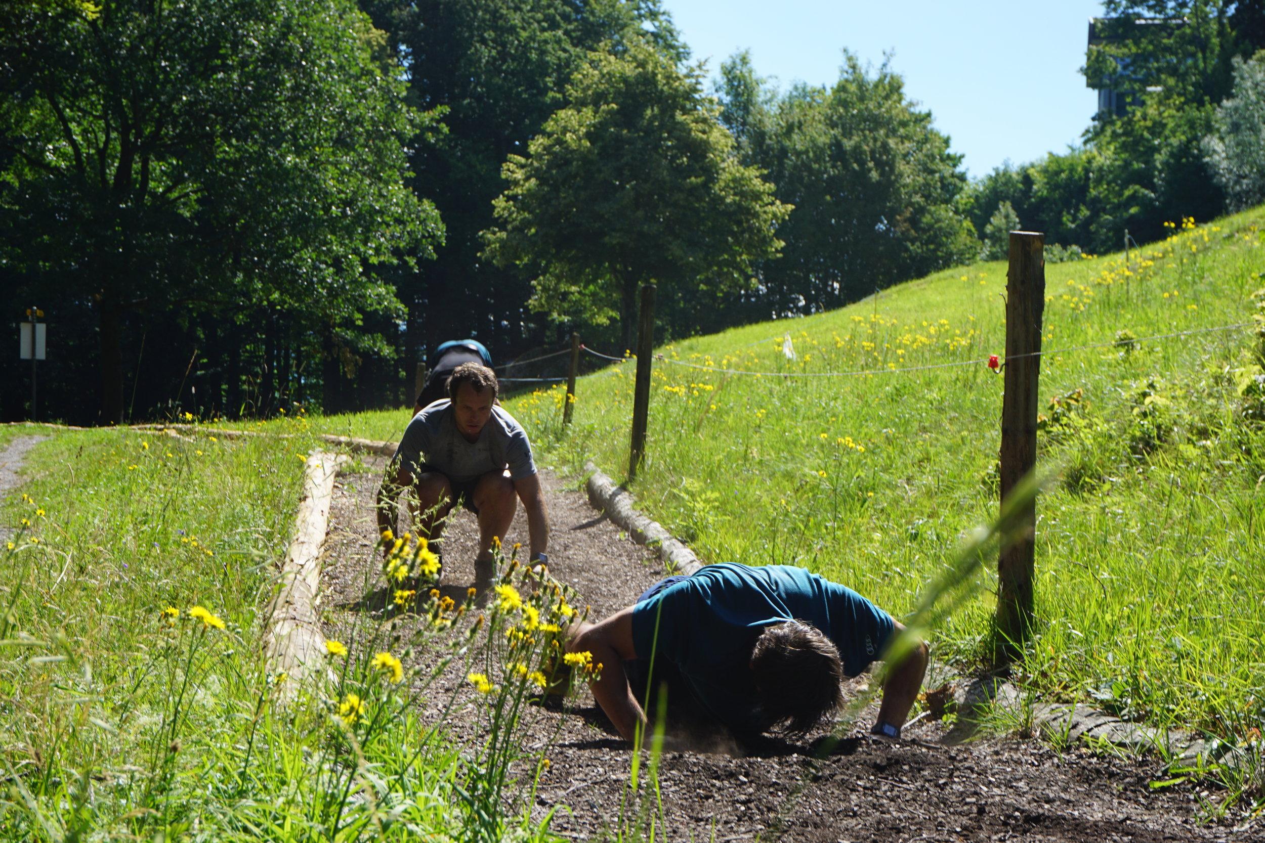 Intervalle waren unter anderem ein wichtiger Bestandteil des Sommertrainings.