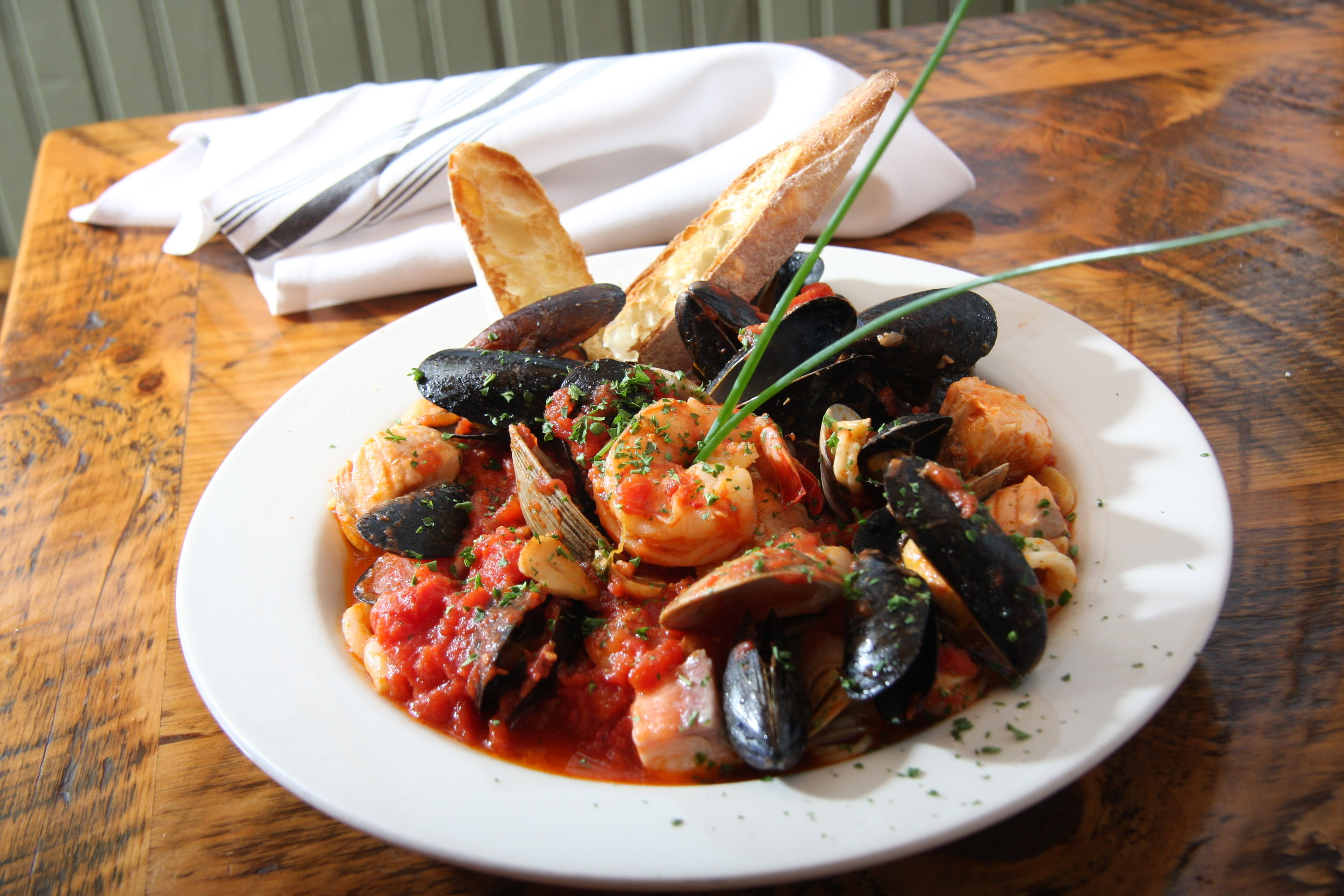 Don't feel like sharing? Our Wonderfully Wicked Seafood Lovers for Two entrée can be made to order for one!