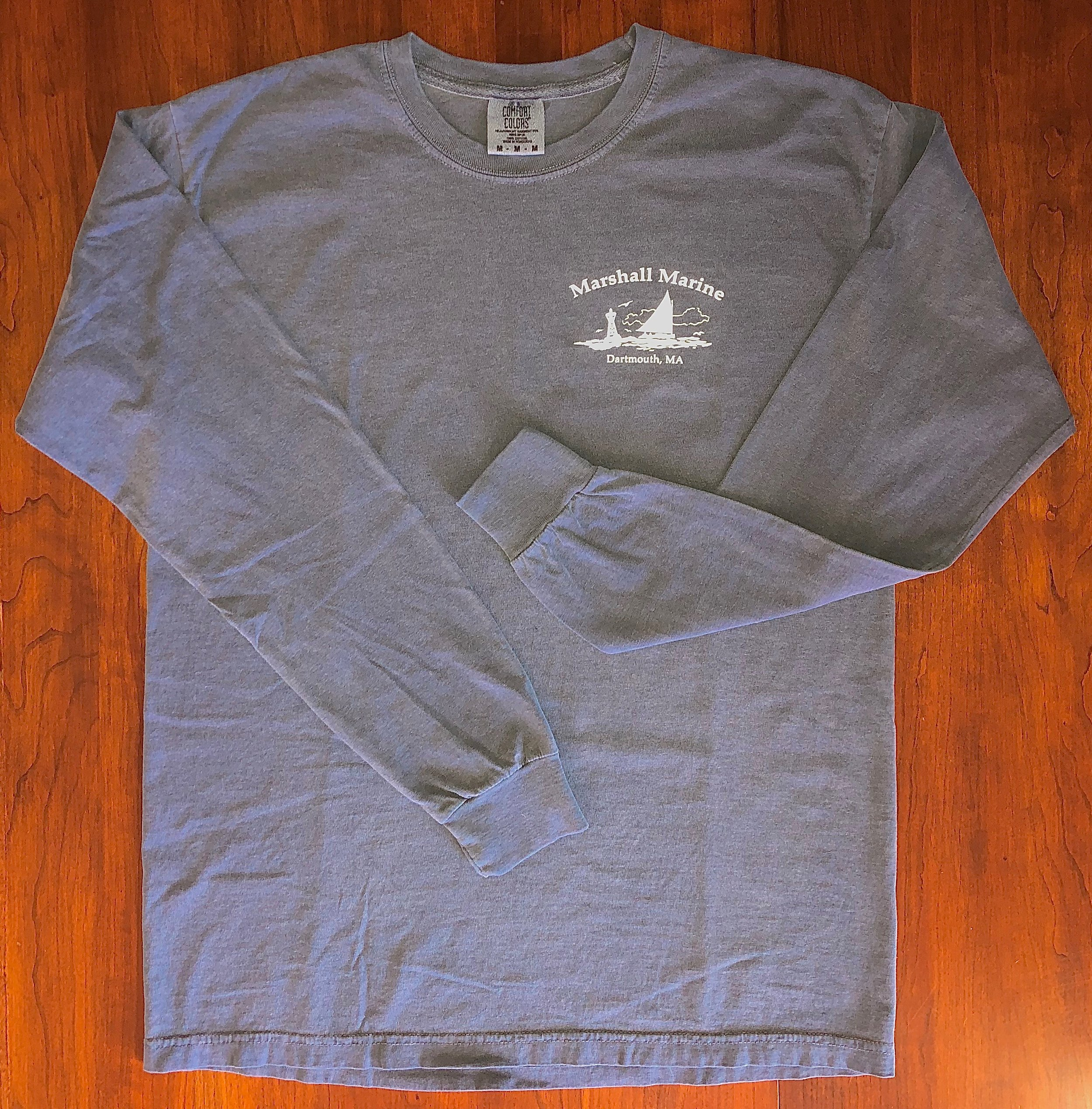 "Men's Long Sleeve Tee - ""Comfort Colors""6.1 oz 100% Ring Spun Cotton; Soft washed garment dyed fabric; double needle collar and bottom hem; Ribbed cuffs.Denim only.Small - 2XL$20.00"