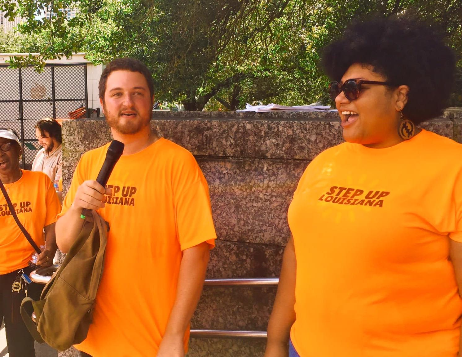 Co-Founders, Co-Directors - Our co-directors Maria Harmon and Ben Zucker co-founded Step Up Louisiana because they saw the need for an independent political organization with a racial justice analysis that could win on education justice and economic justice issues. Together they are working to build Step Up into a powerful force across the state.To reach them you can contact Maria at maria@stepuplouisiana.org and Ben at ben@stepuplouisiana.org