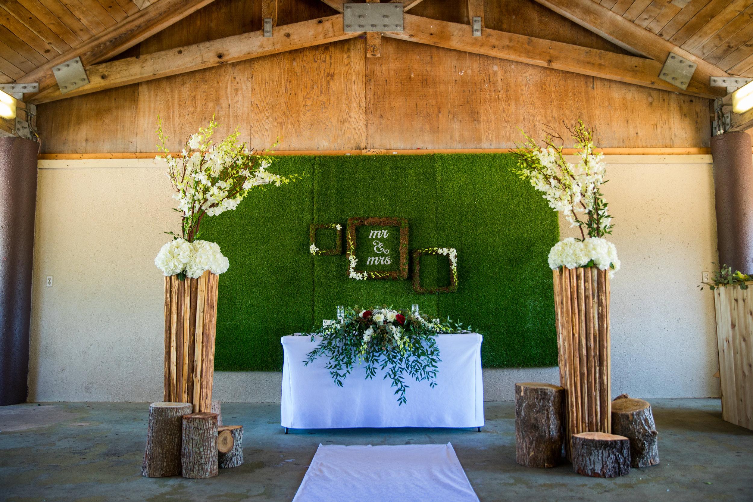 Rustic Spring Park Wedding - Stephanie + Larry