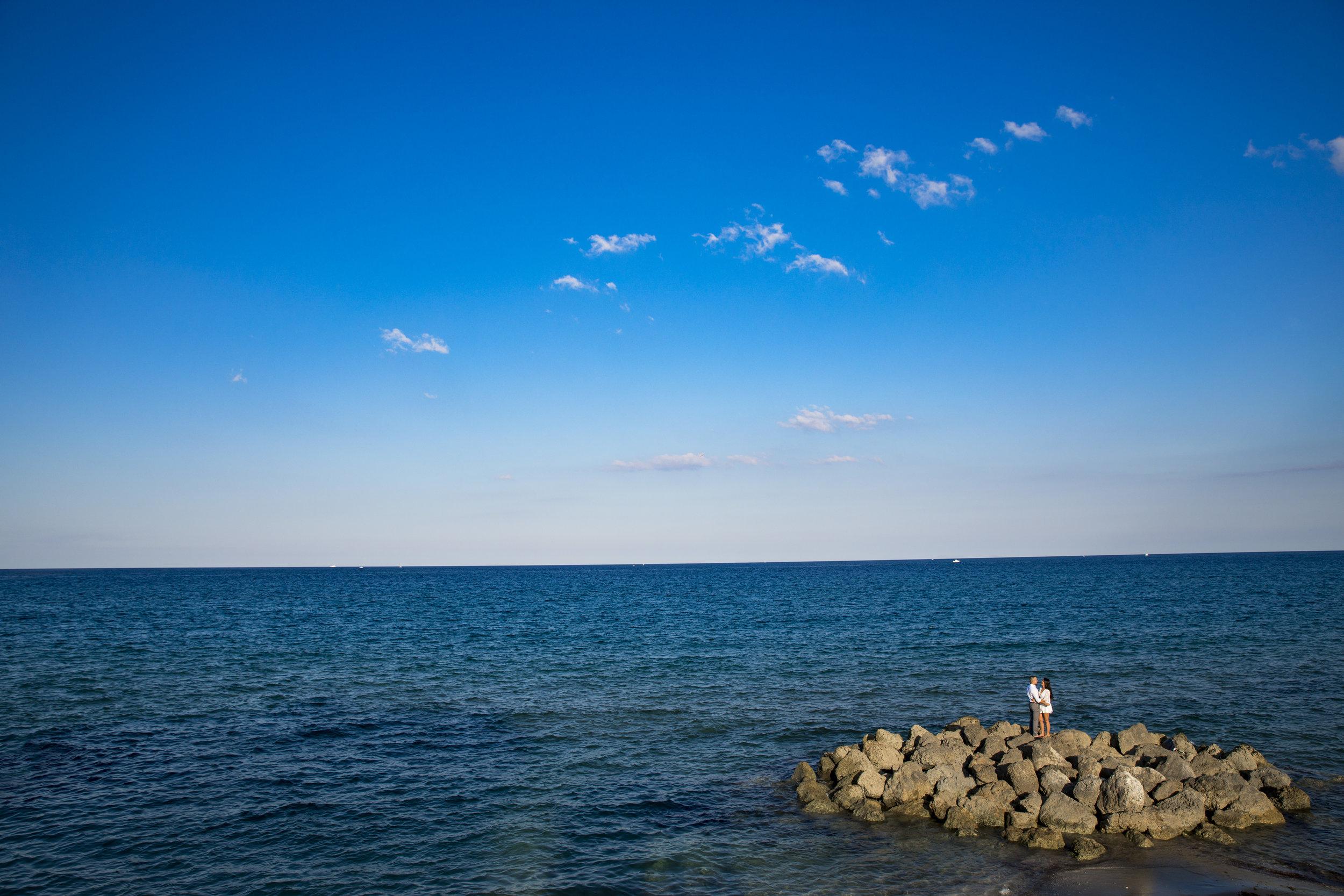 Deerfield Beach Engagement - Johana + Felipe