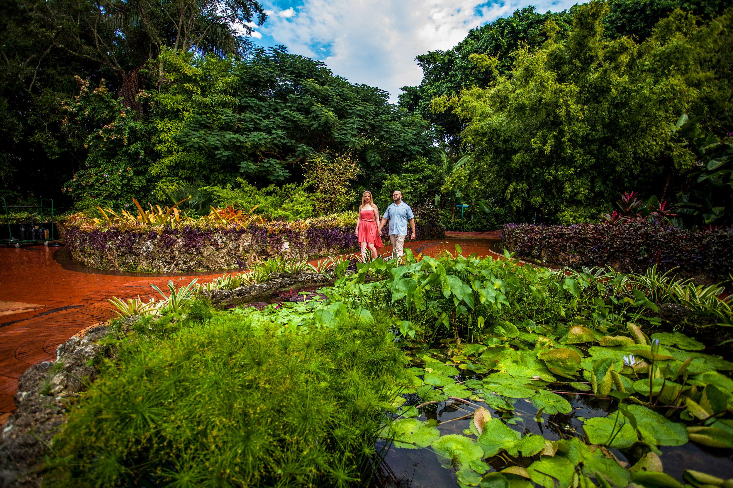 Pinecrest Gardens Engagement - Teresa + Damian