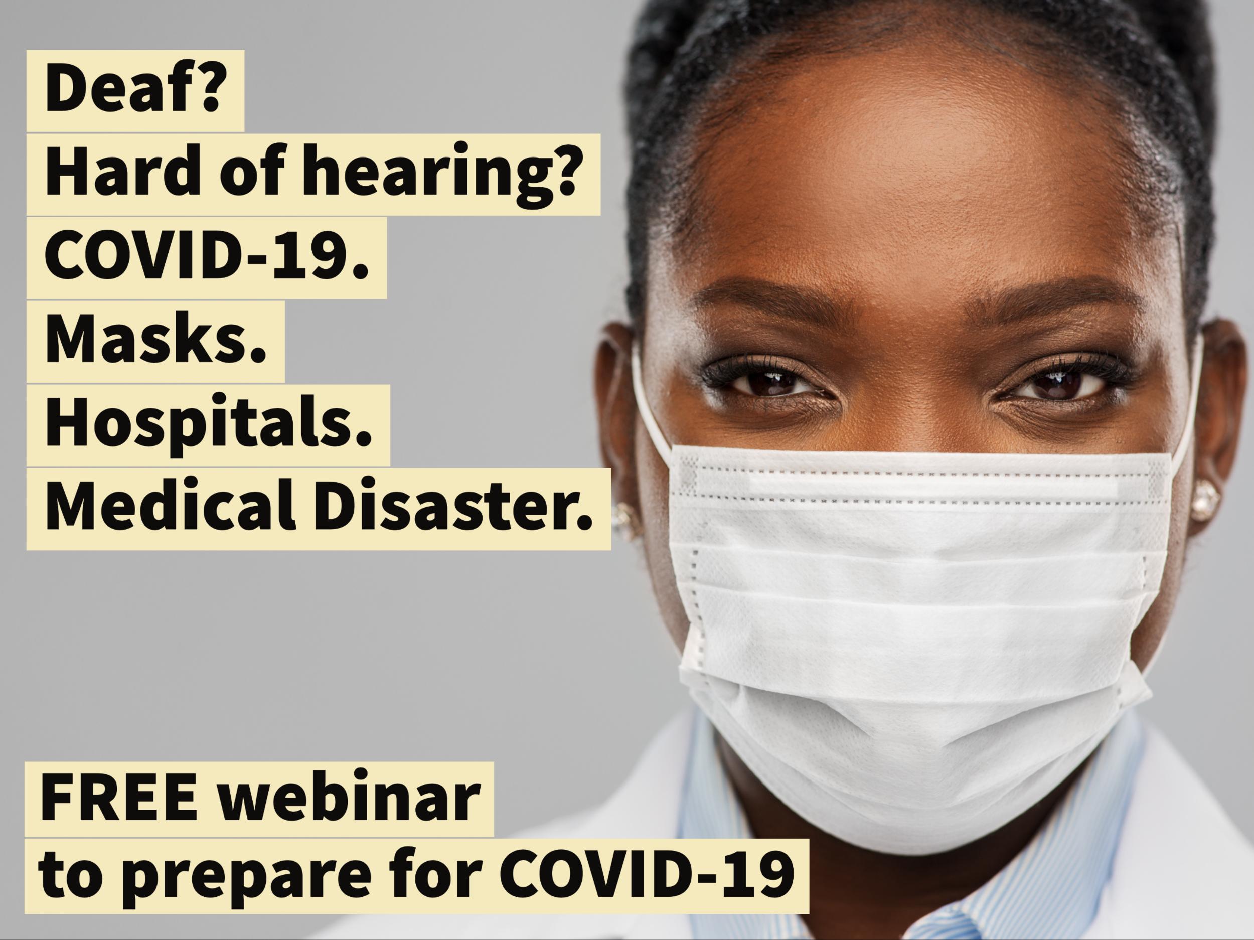 Covid-19, Hearing Loss  Hospitalization  Chad Ruffin, Md-7033