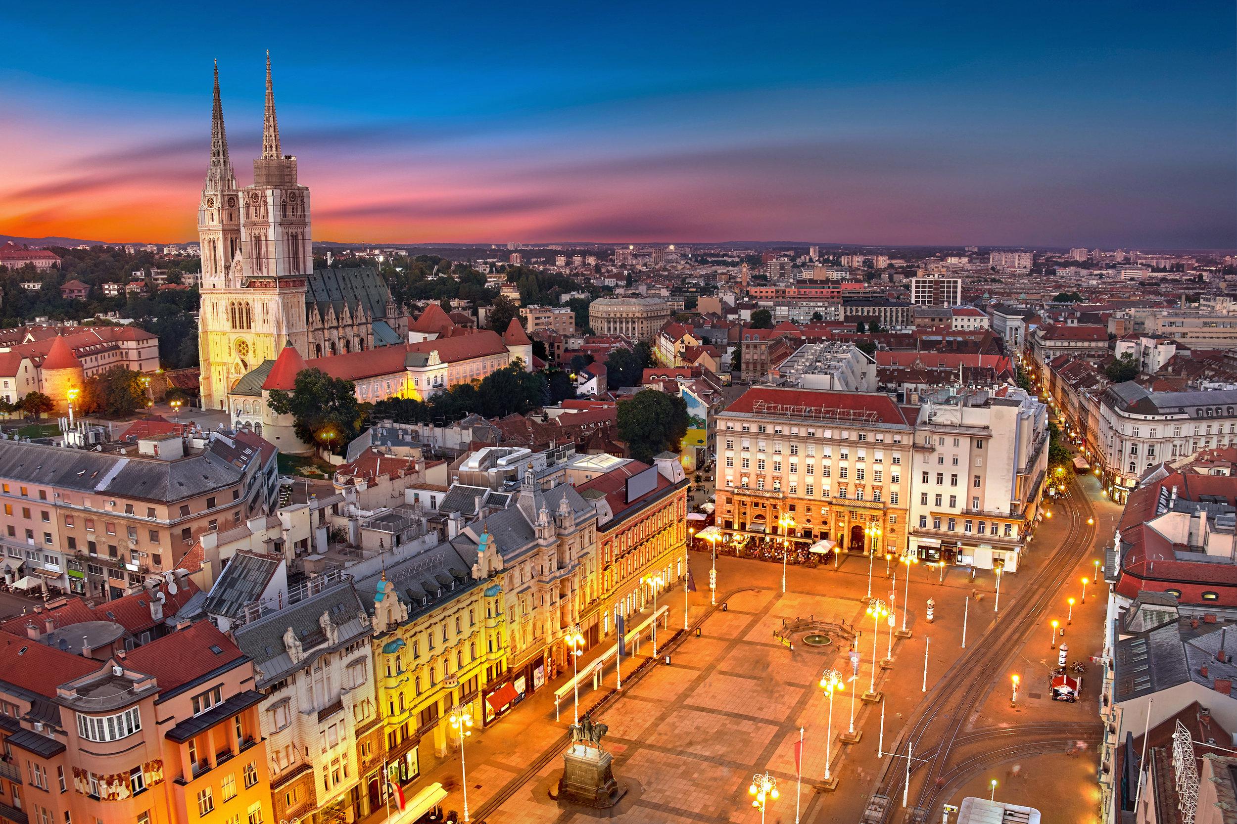 Explore the City Center of Zagreb