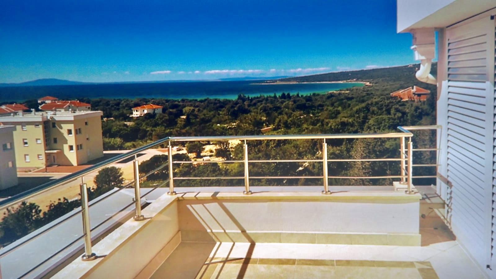 Views from our Ville Sunca top floor Condo