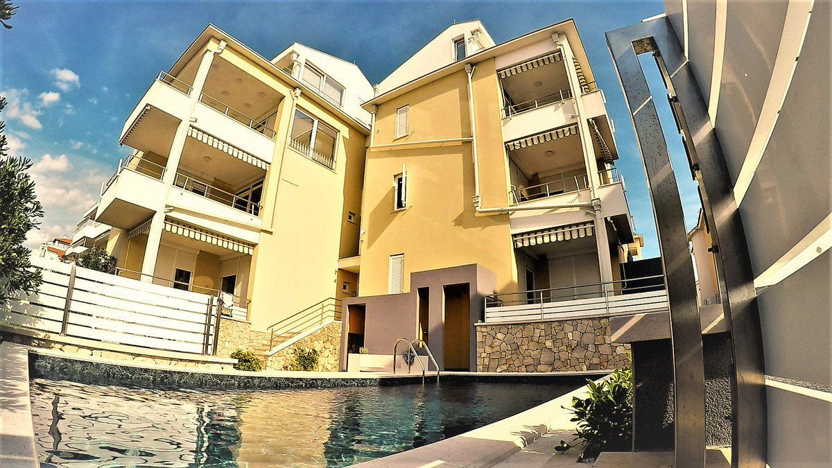 Poolside at the Ville Sunca Resort Condos