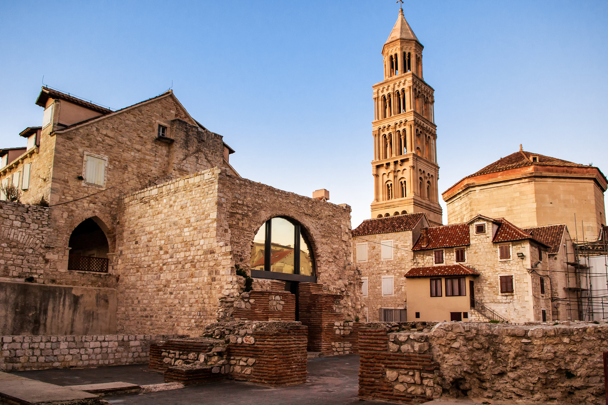 Explore the 1000 year old walled town of Zadar