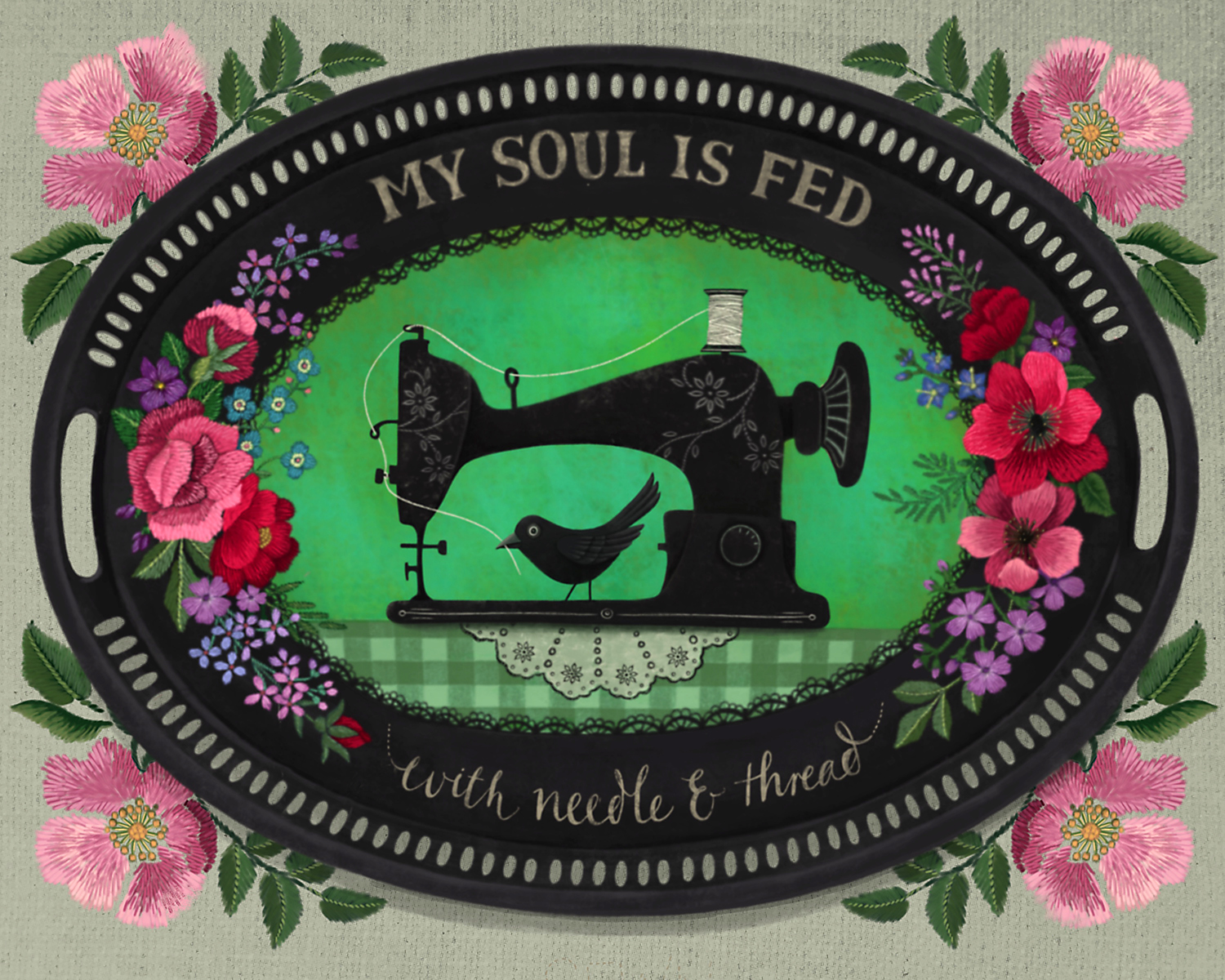 My Soul is Fed - Tray
