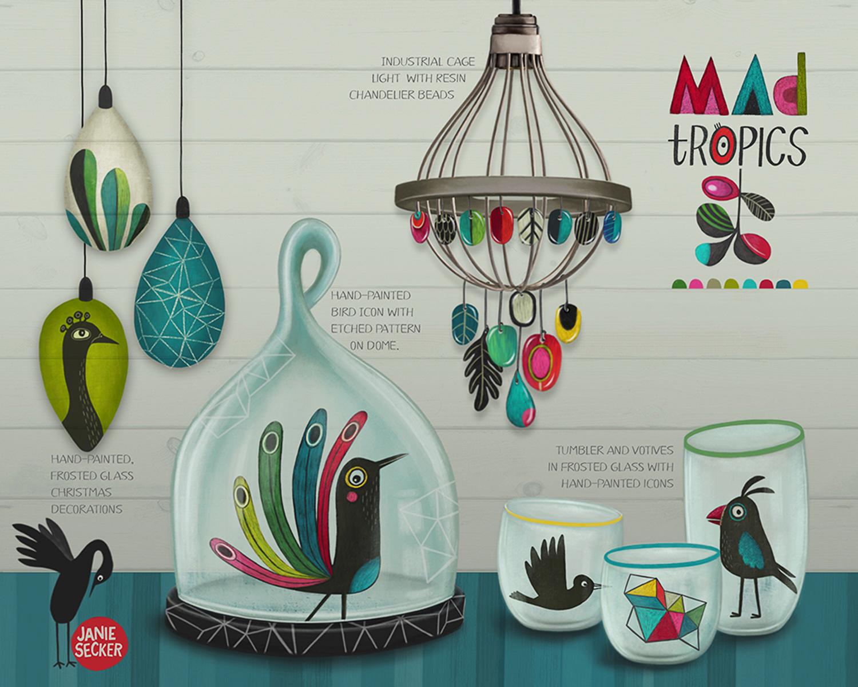 Mad Tropics - Glassware