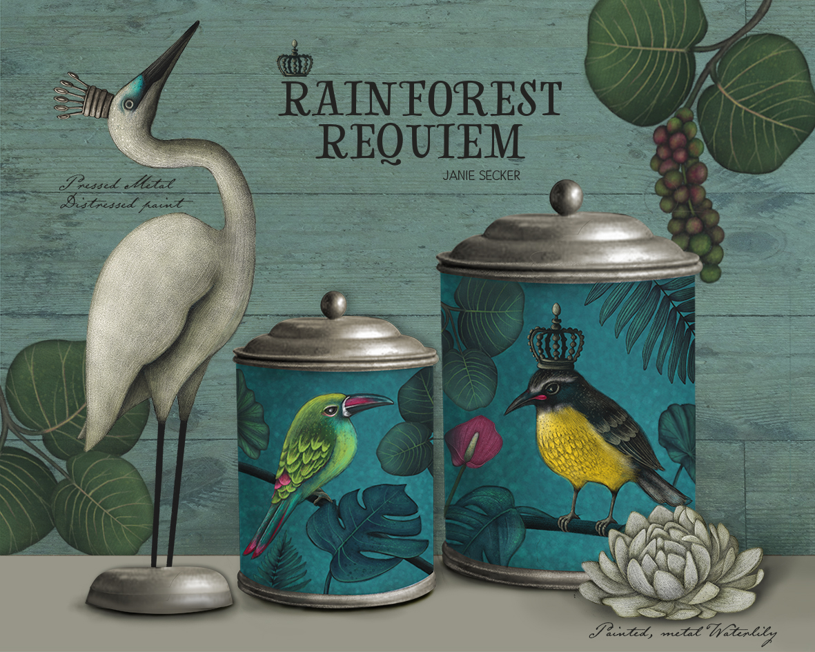 Rainforest Requiem - Tins