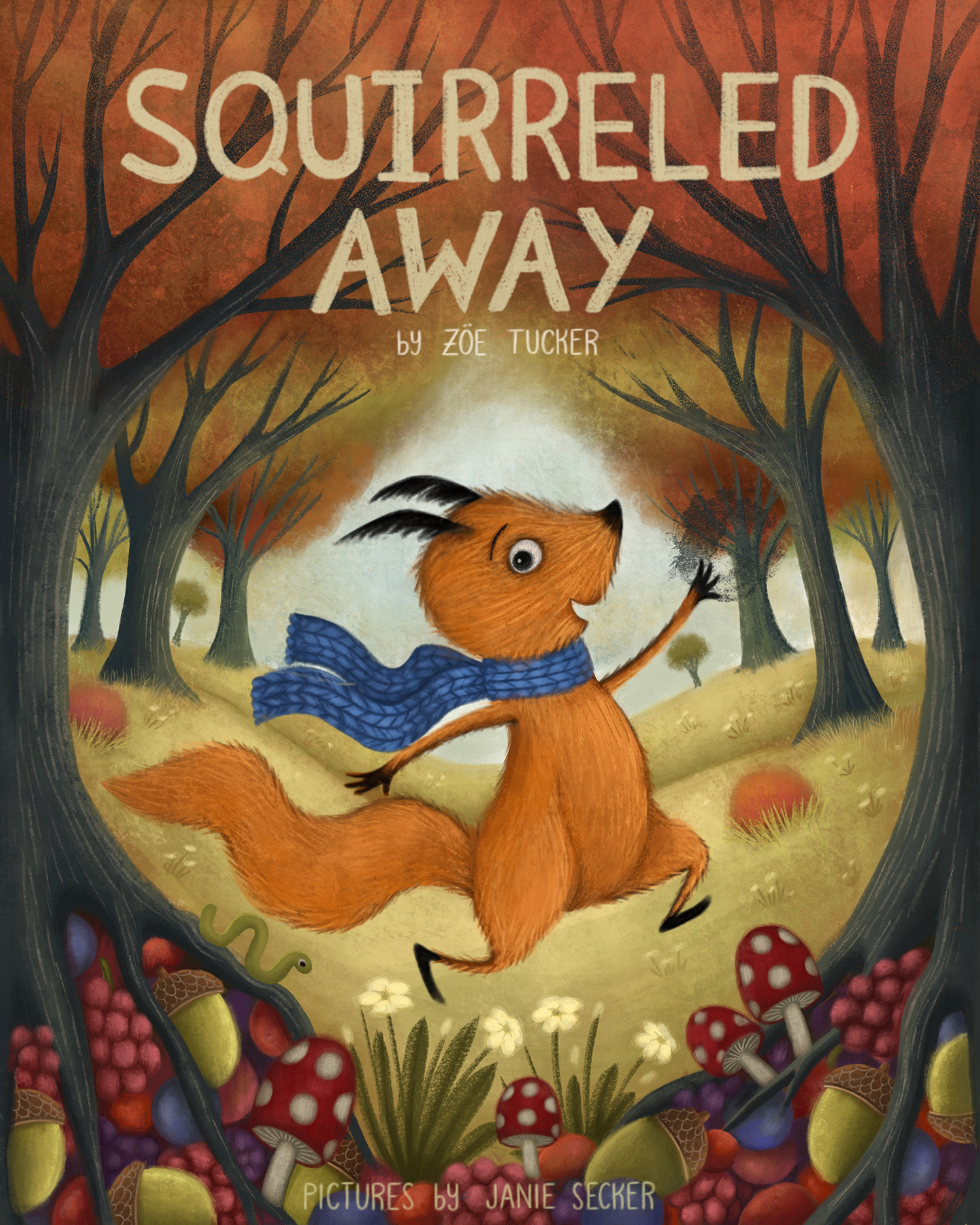 Squirrelled Away - Cover Design