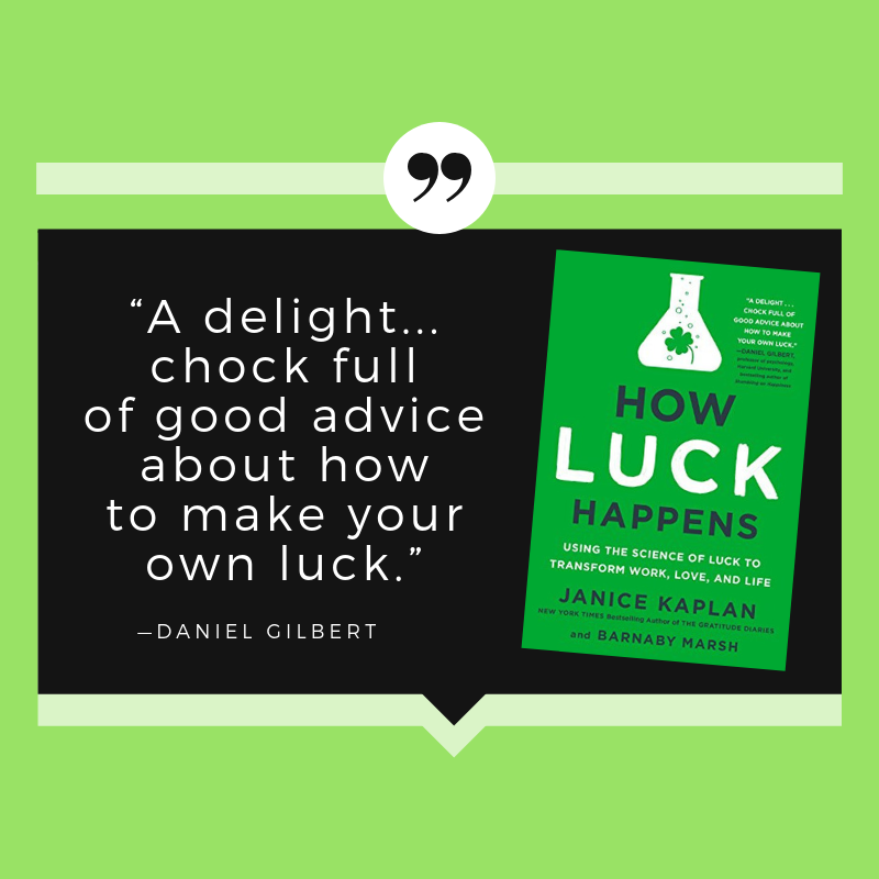 How Luck Happens Review Quotes.png