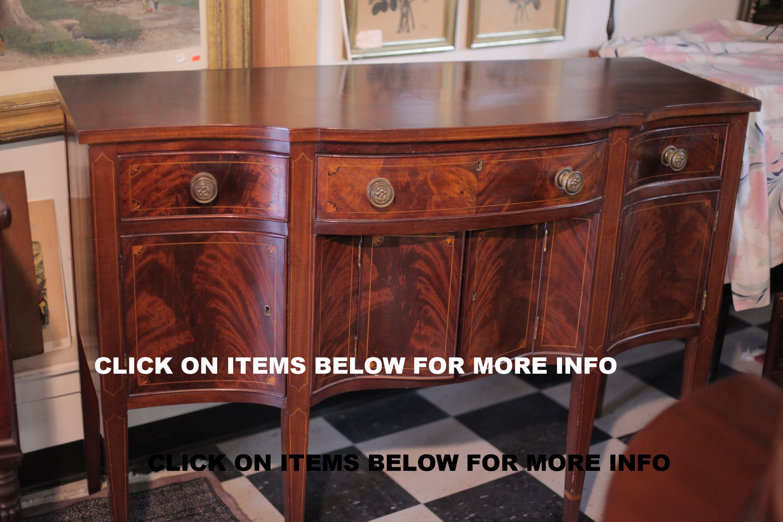 Furniture - Call or Email for Price InquiriesClick On Items Below For More Info