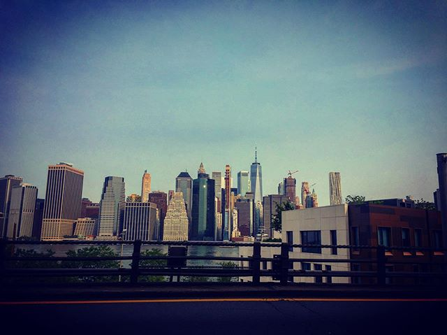 View of Manhattan from the BQE! 💋#brooklyn #lovebrooklyn