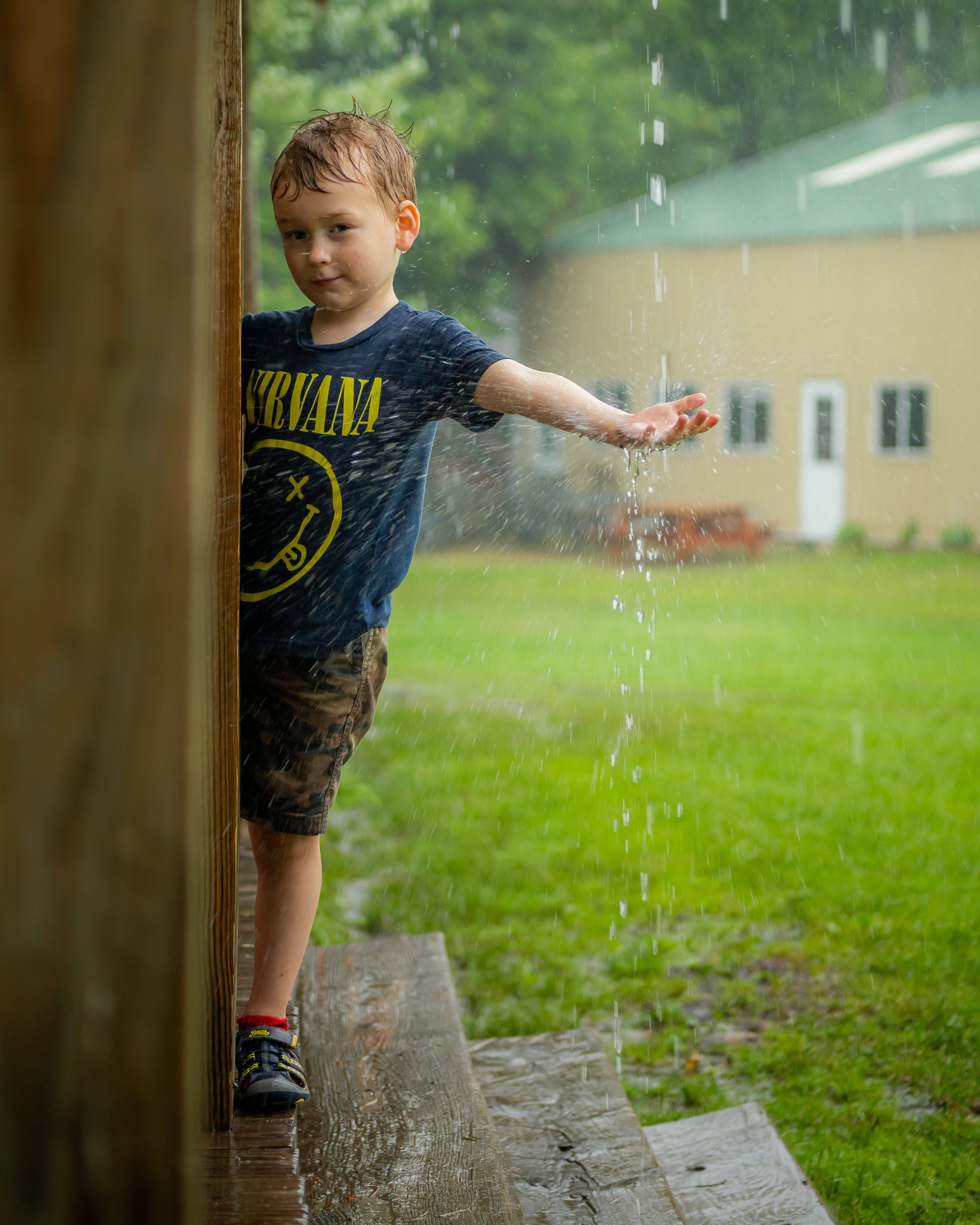 Rainy Day in Wisco - Dustin has a gift with capturing our children's natural personalities through his lens! He was fun to work and very creative throughout our session! We will definitely work with him again!-Ash (Maple Lake, MN)