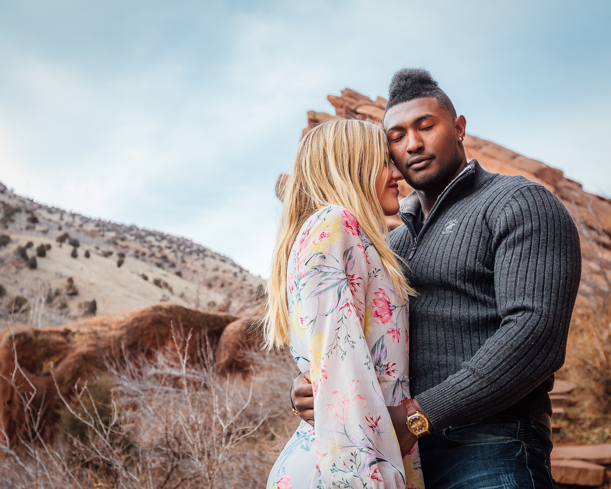 Red Rocks Engagement - Dustin took engagement photos for my fiance and I, and was awesome to work with! He was flexible in scheduling the shoot so that we could get good light at a time that worked for all of us. He was fun to work with and had taken the time to pick out good spots at our location to shoot. He got our photos back to us very quickly and the edits were absolutely beautiful! 10/10 reccommend.-Elizabeth (Denver, CO)