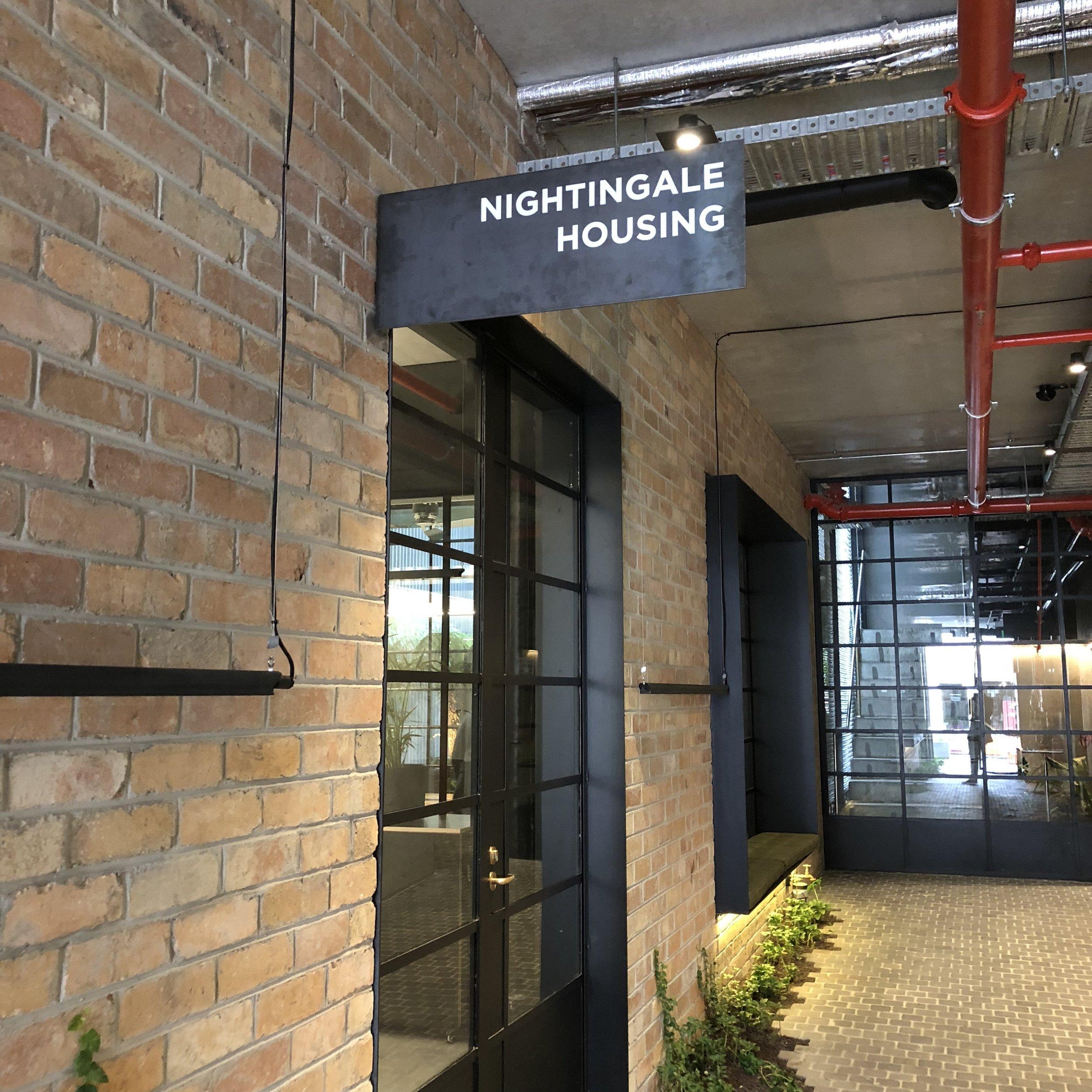 The Nightingale Housing office at Nightingale 1