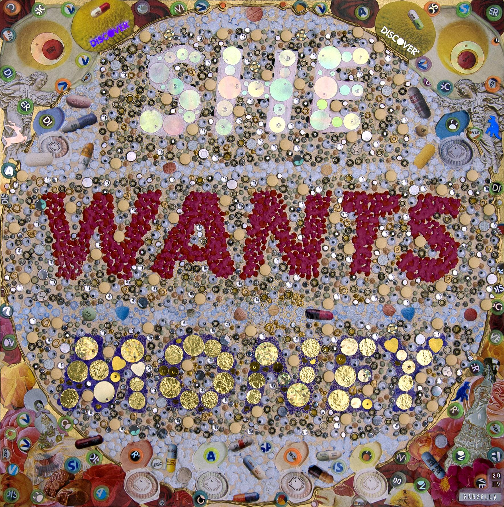 SHE WANTS MONEY