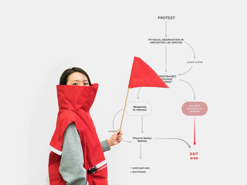 Protest Systems— Design for peaceful protests   service design, industrial design