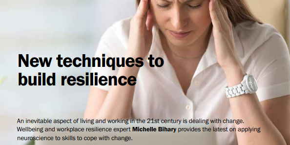 New techniques to build resilience - Consumer Directions June 2018