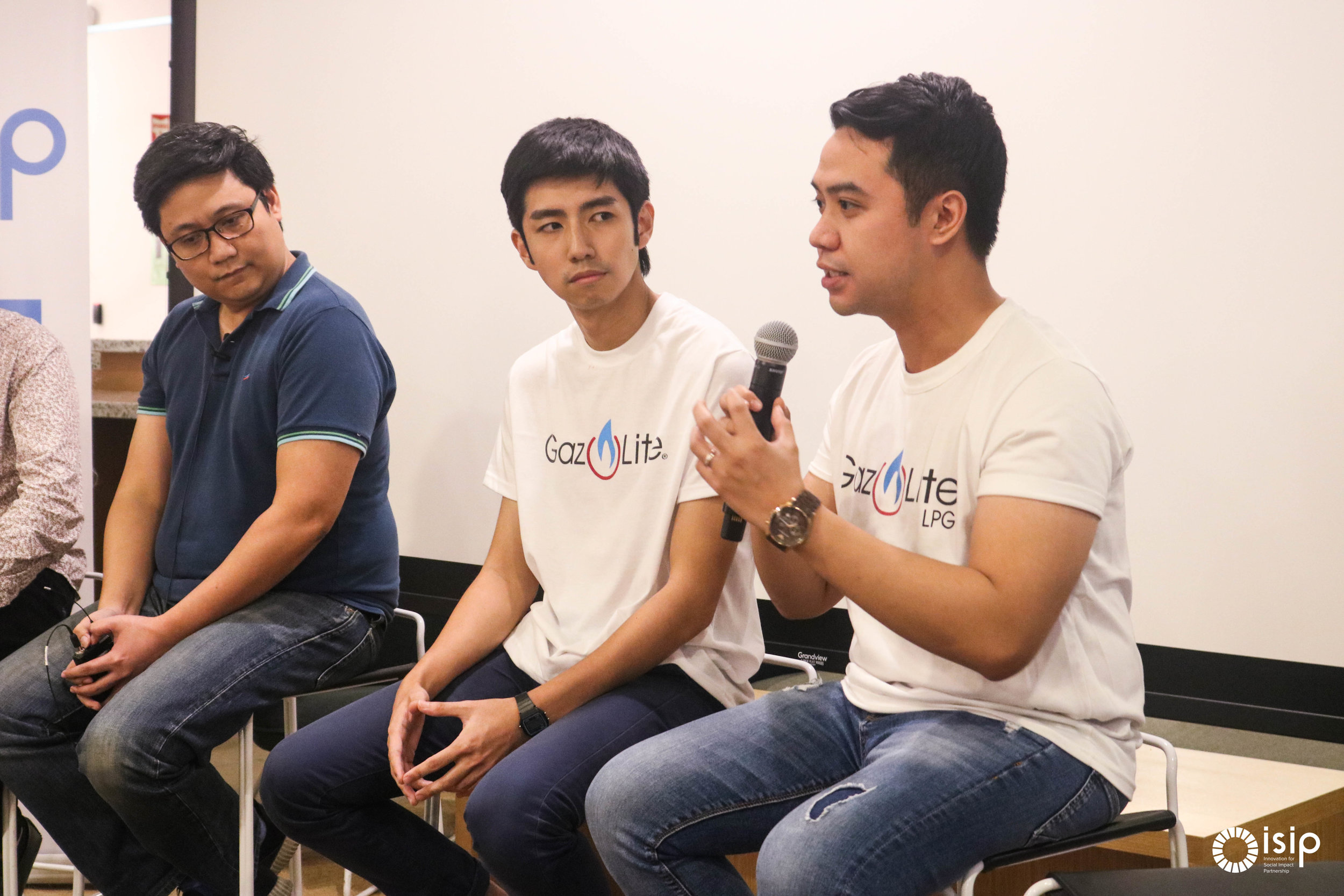 """- """"In order for us to scale better and to the scale that we want, we have to understand impact. And that's what we learned from ISIP.""""—Nathan Camat, Co-founder of Gaz Lite."""