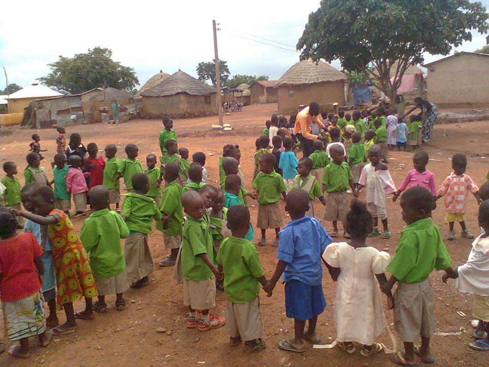 A school day in Tamale, Northern Ghana. - Volunteering in Africa