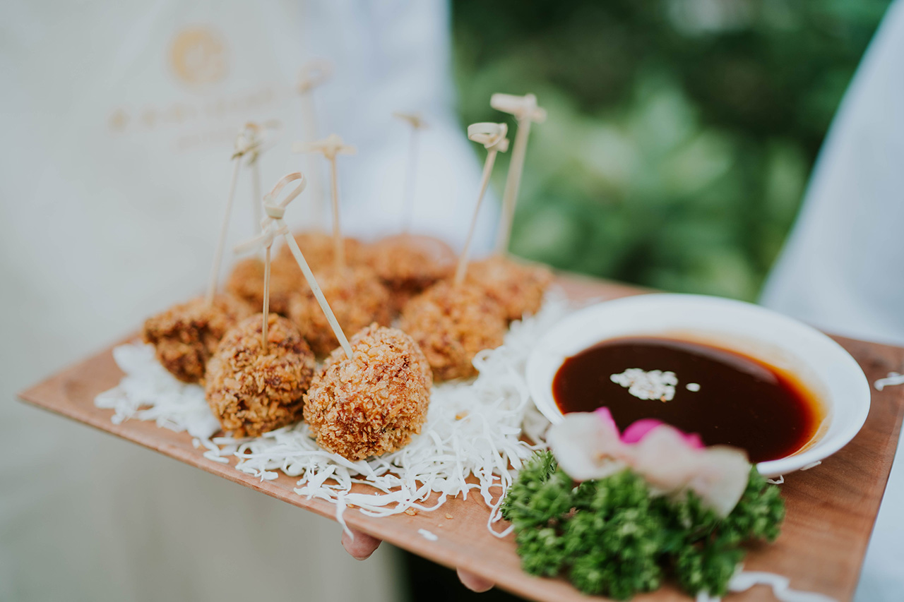 delectable finger food for any events bali catering services