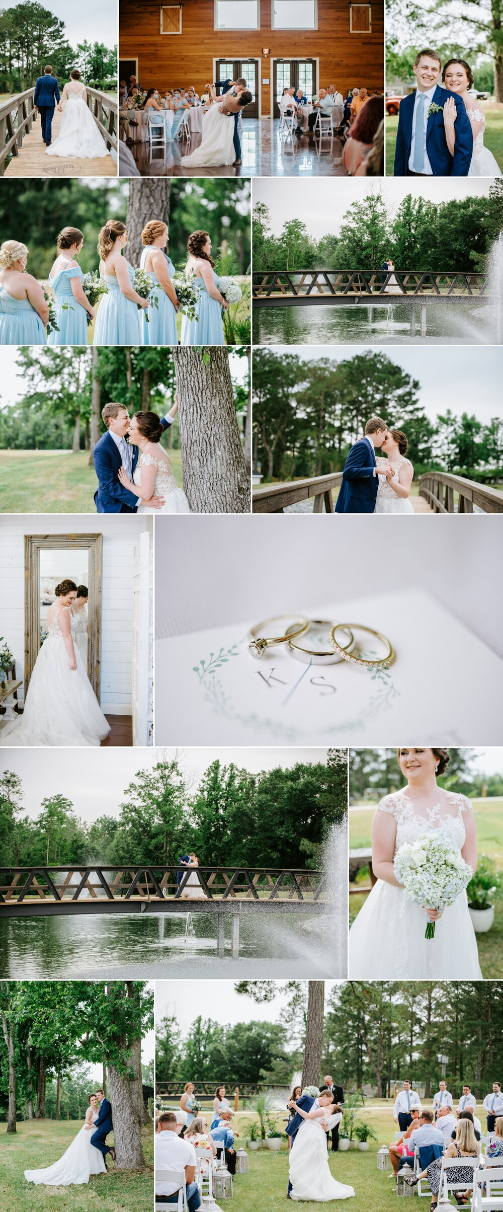 Kelby + Sean   A Jacksonville, NC Wedding at The Rustic Barn at ...