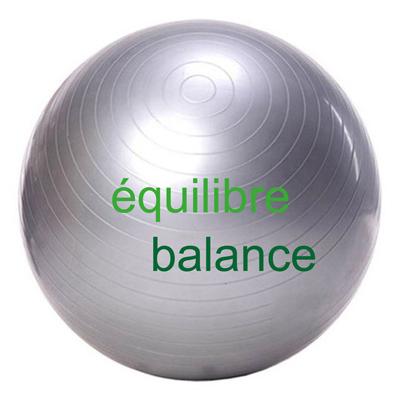 équilibre ballon suisse