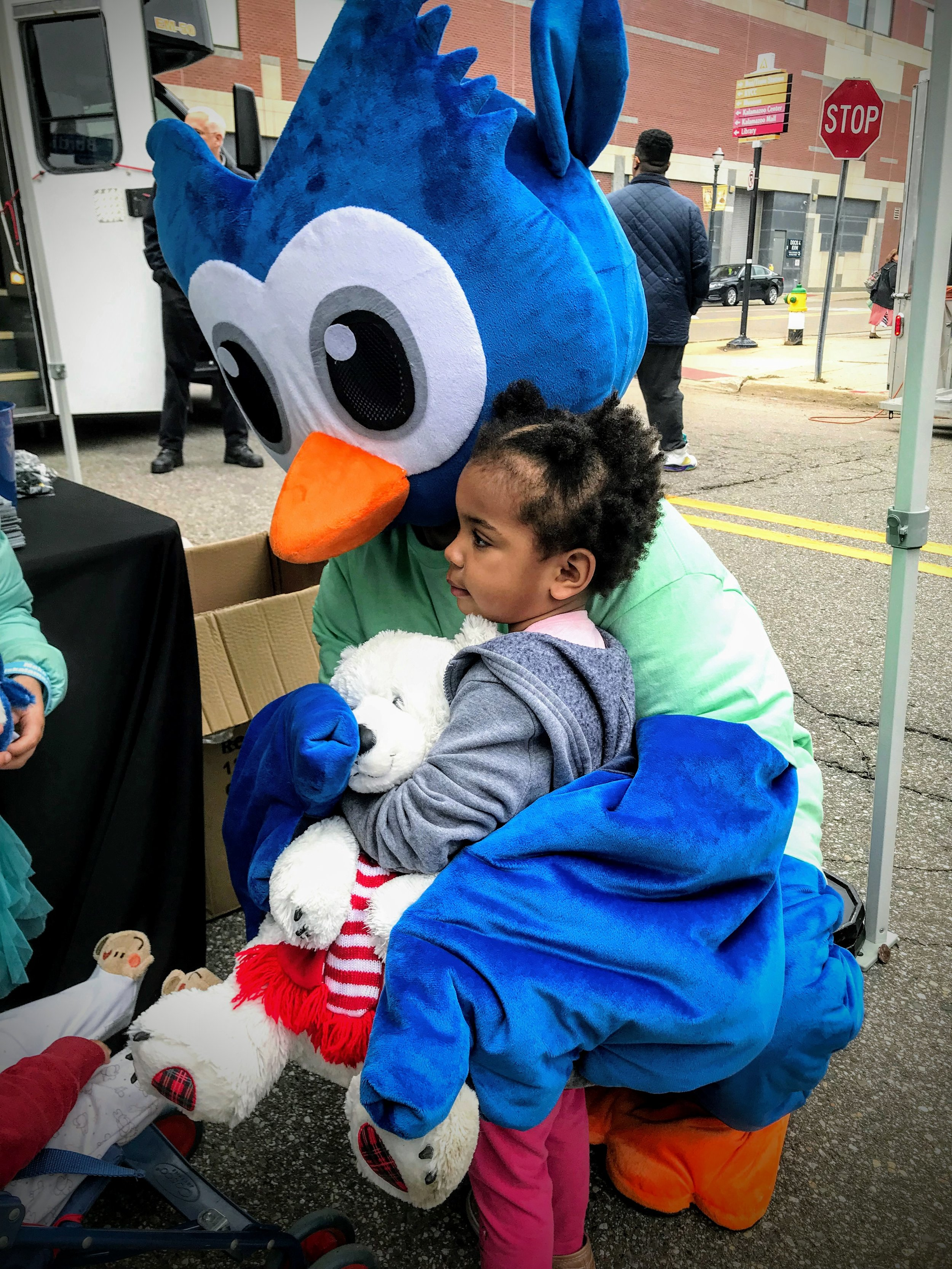 More owl love at the North Burdick St. Block Party.