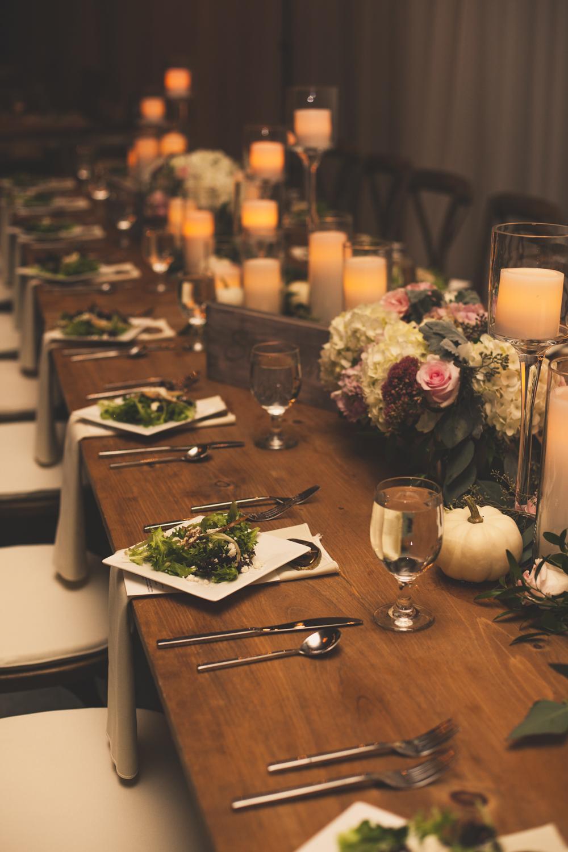 Table Setting Idea for Fall Wedding