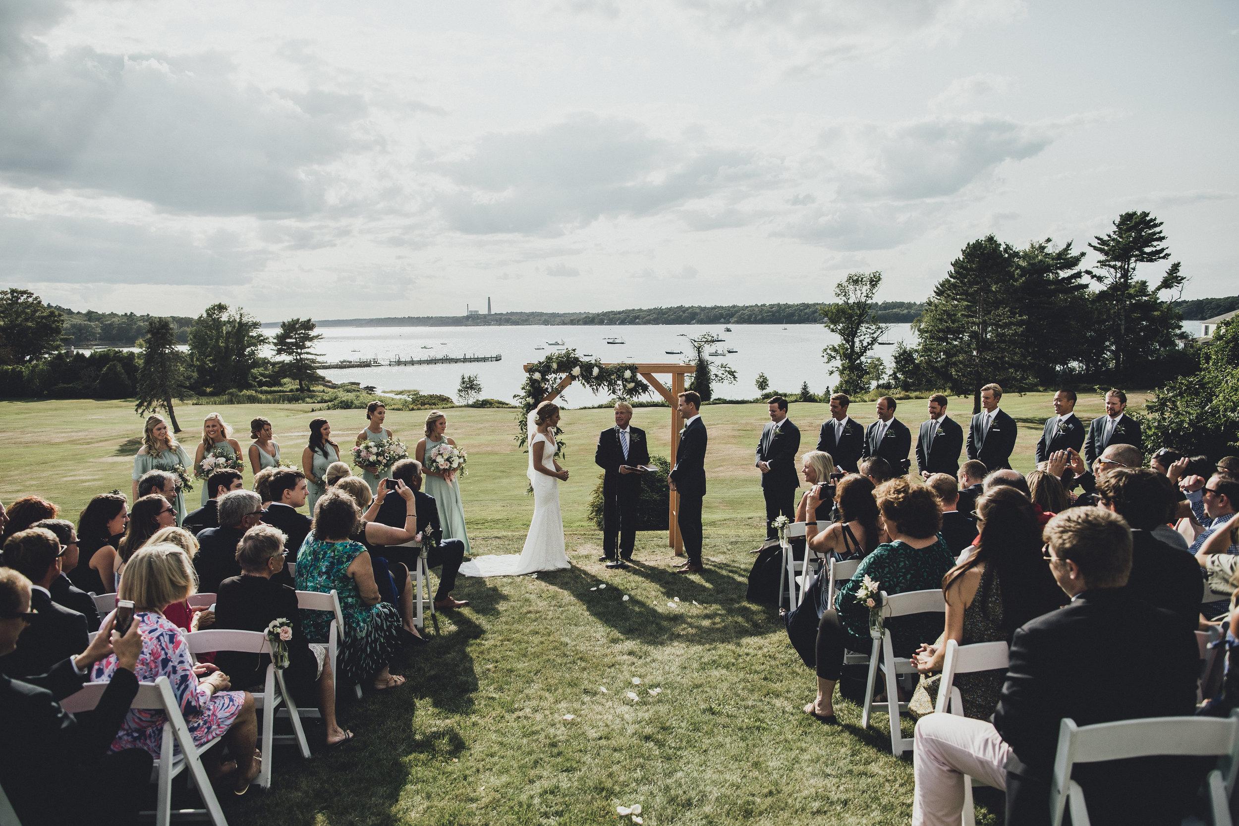 Katelyn & Sean's Wedding on Chebeague Island