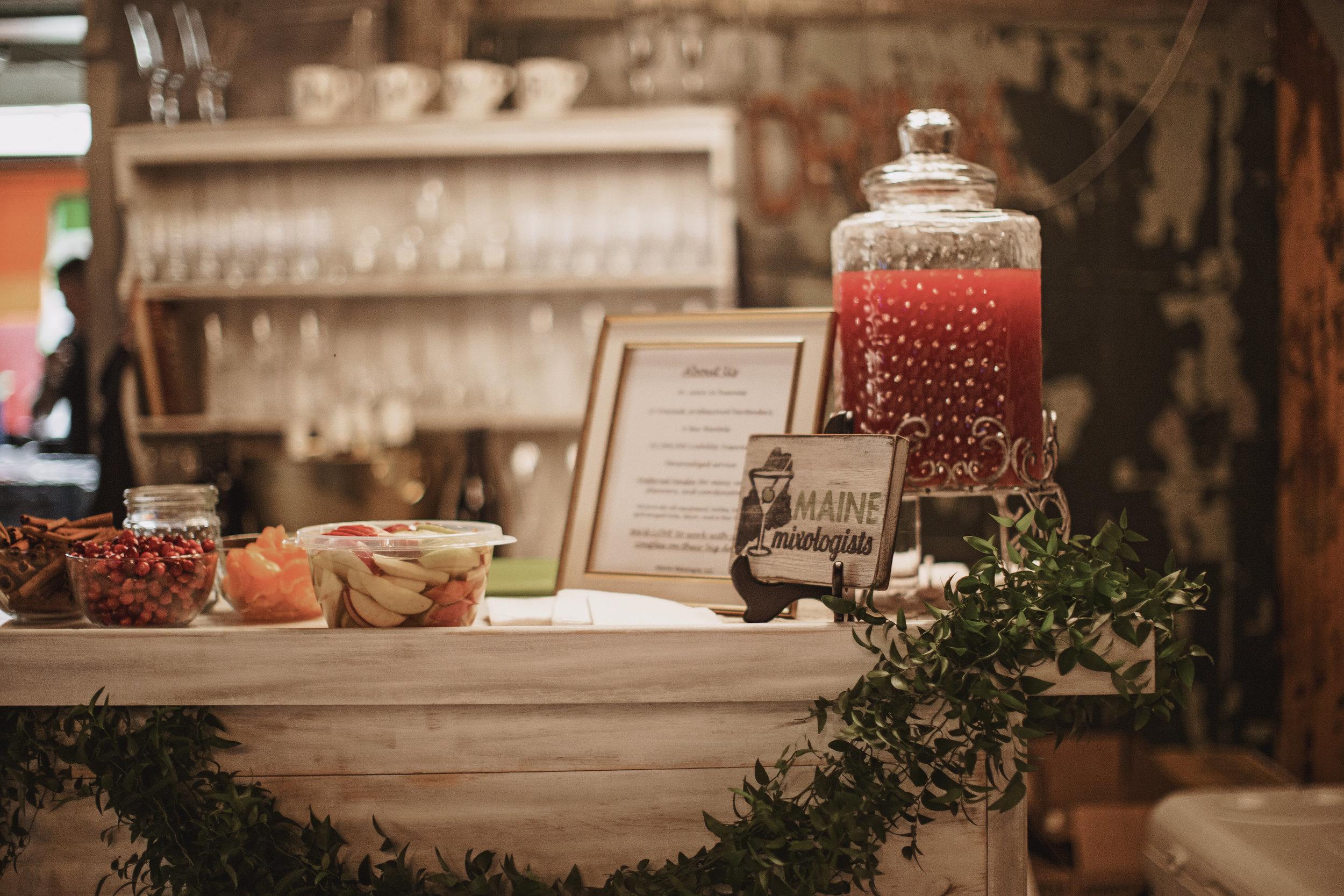 Wedding Bar Idea