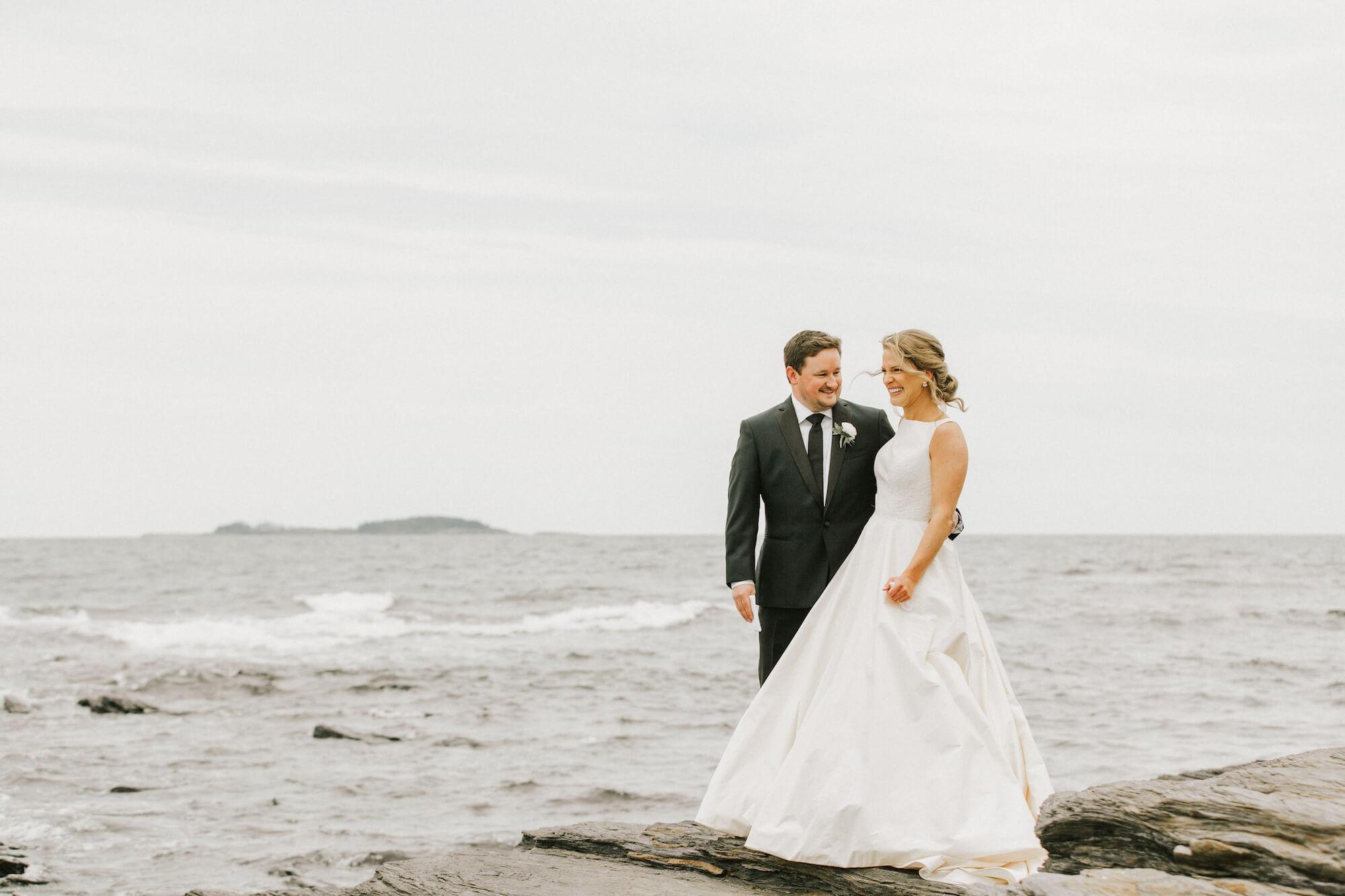 A Waterfront Wedding at Black Point Inn -